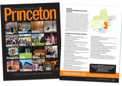 Princeton promotional sheet