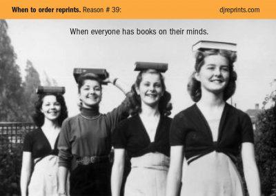 Postcard for Dow Jones book reviews